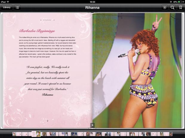 Rihanna, pop celebrity and news