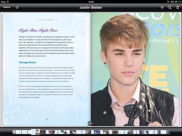 Justin Bieber. pop celebrity and news