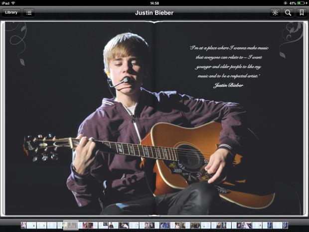 Justin Bieber, pop celebrity and news