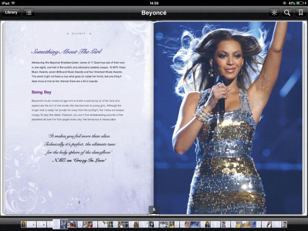 Beyoncé spreads, celebrity pop and gossip