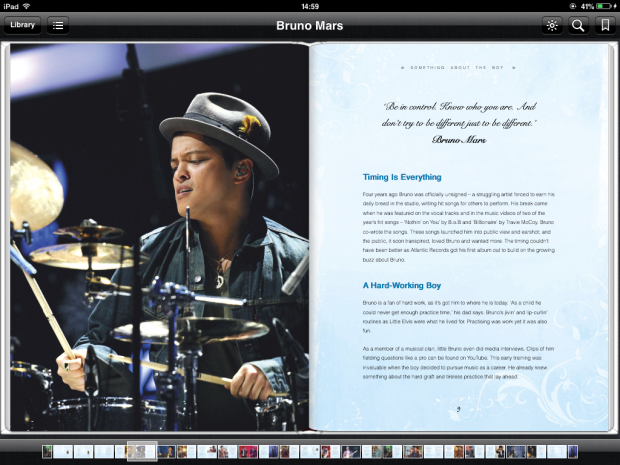 Bruno Mars, pop celebrity and news